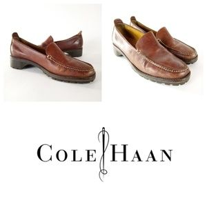 Cole Haan Loafers Size 7.5 Brown Shoes